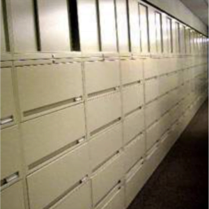 This is a picture of a lateral files.