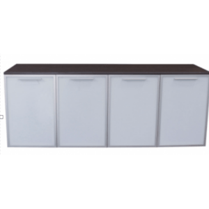 This is a picture of an OFW VL 4 Door Credenza.